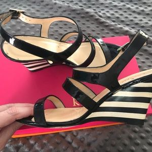 Kate Spade scrappy sandals size 9